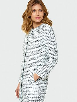 Szín Biały Női kabátok ac8695c52e